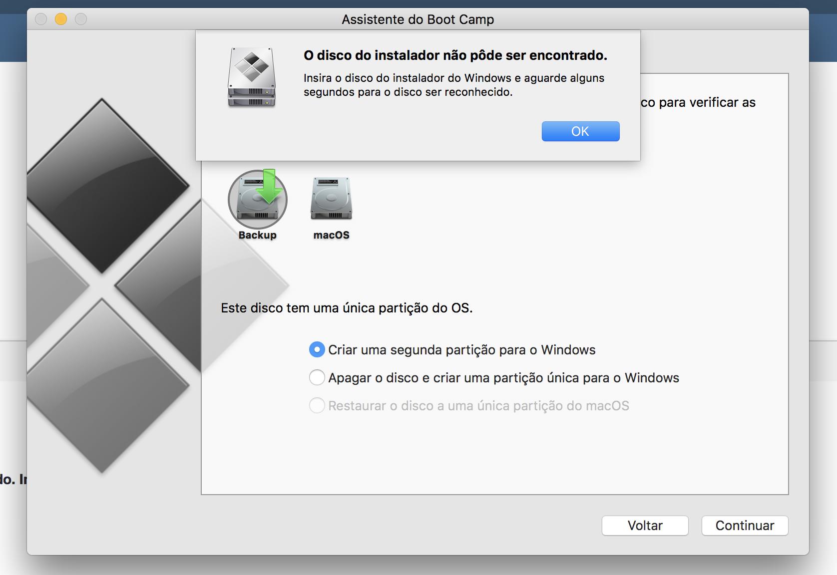Boot Camp no iMac - Outros Sistemas & Mac vs  PC - MM Fórum